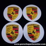 【PORSCHE】ポルシェマカン65mmカラークレストセンターキャップセット